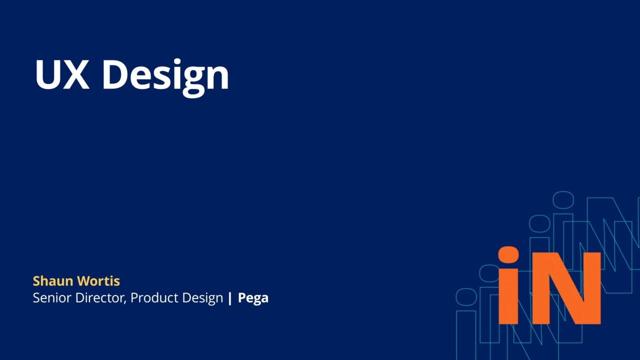 PegaWorld iNspire 2020: UX Design
