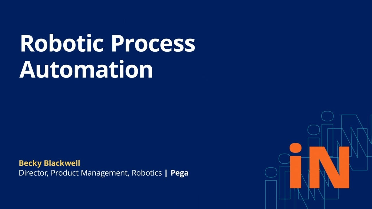 PegaWorld iNspire 2020: New innovations in Pega RPA