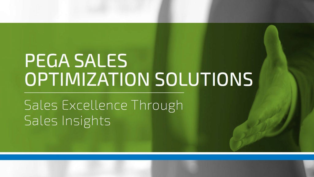 sales optimization solution