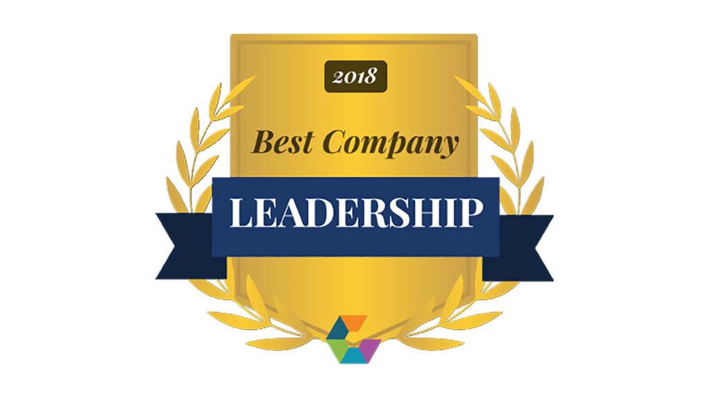 2018 Comparably Gold Leadership award