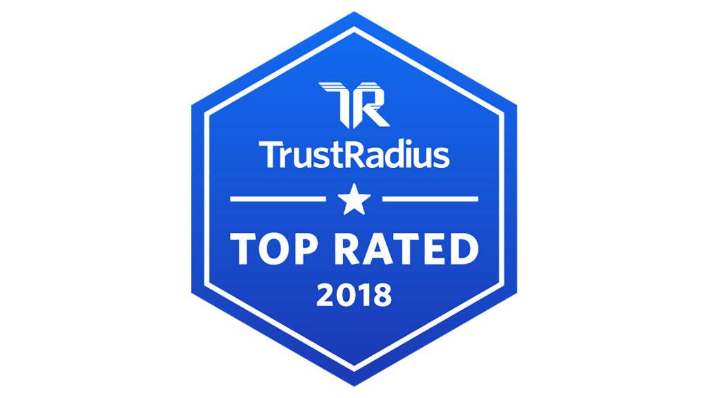 2018 TrustRadius Top Rated