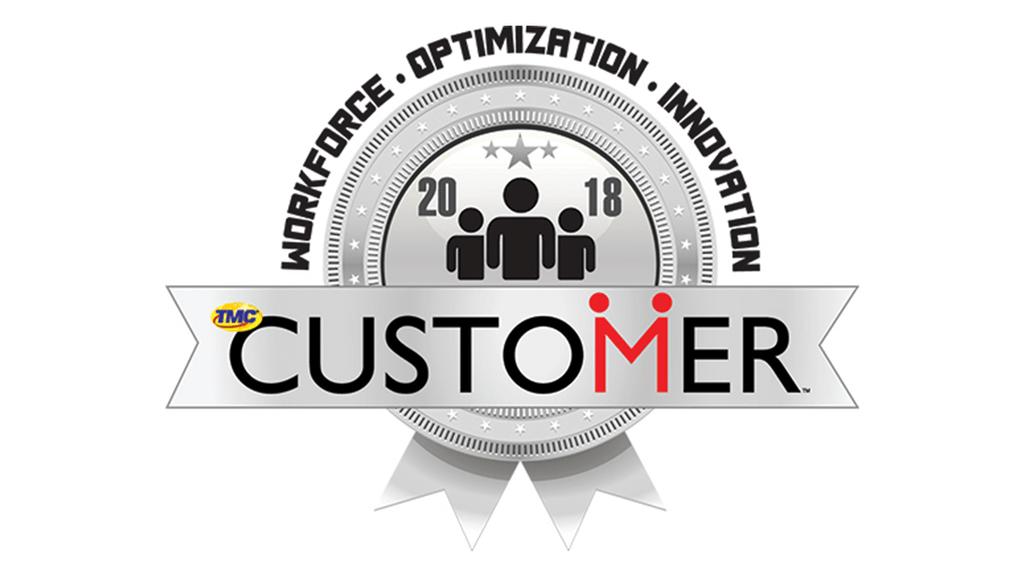 2018 TMC Workforce Optimization award