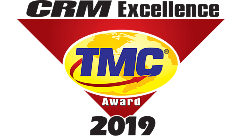 2019 TMC CRM Excellence Award