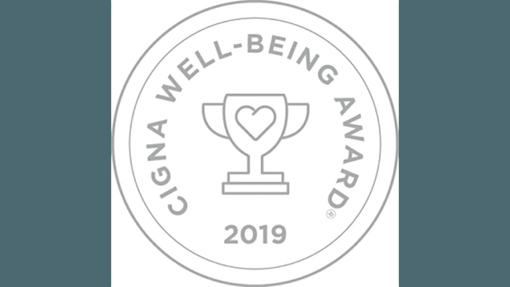 2019 Cigna Well-Being award