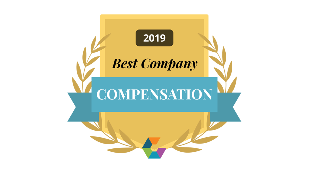 Best Company for Compensation 2019