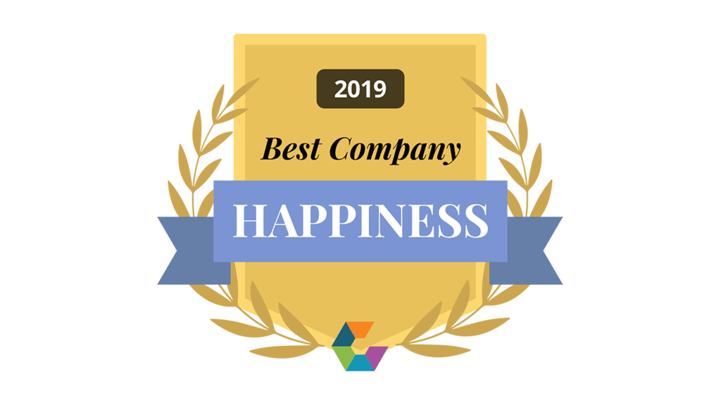 Best Company for Happiness in 2019