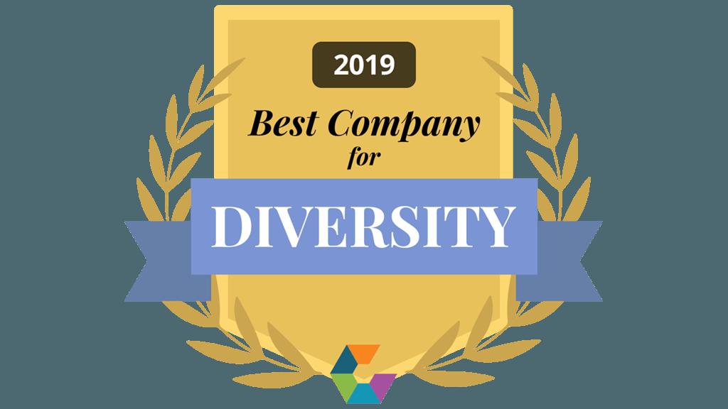 2019 Best Company for Diversity award