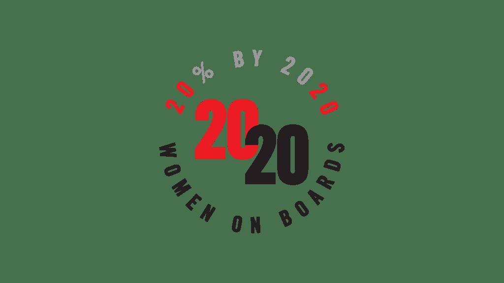 20% by 2020 Women on Boards