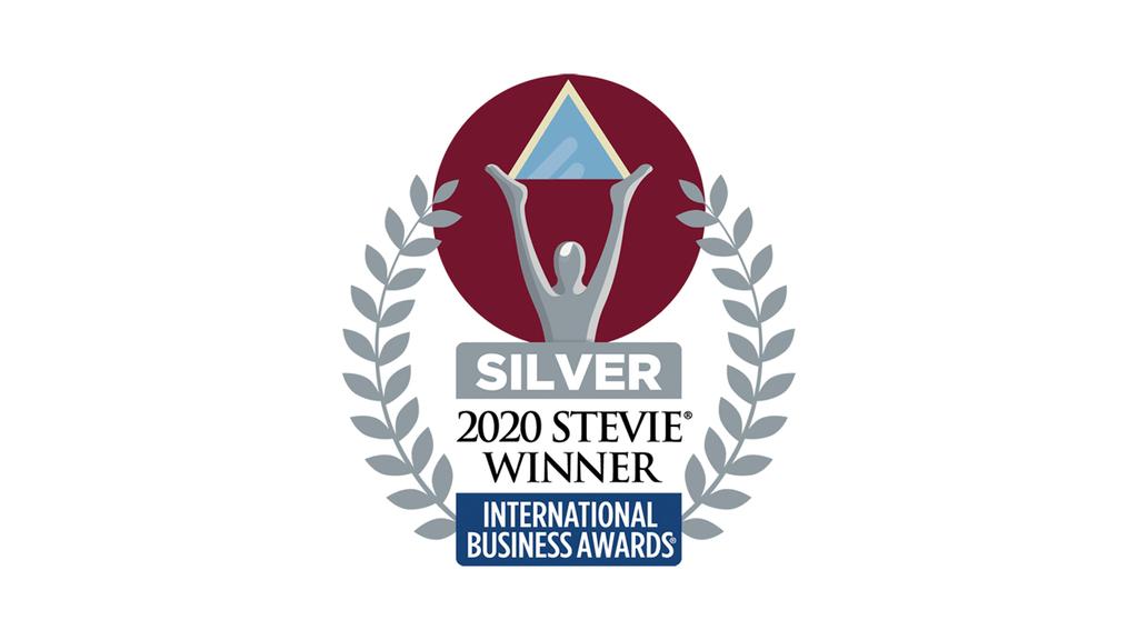 2020 Stevie Winner Silver award
