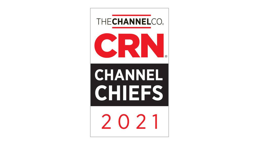 2021 CRN Channel Chiefs award