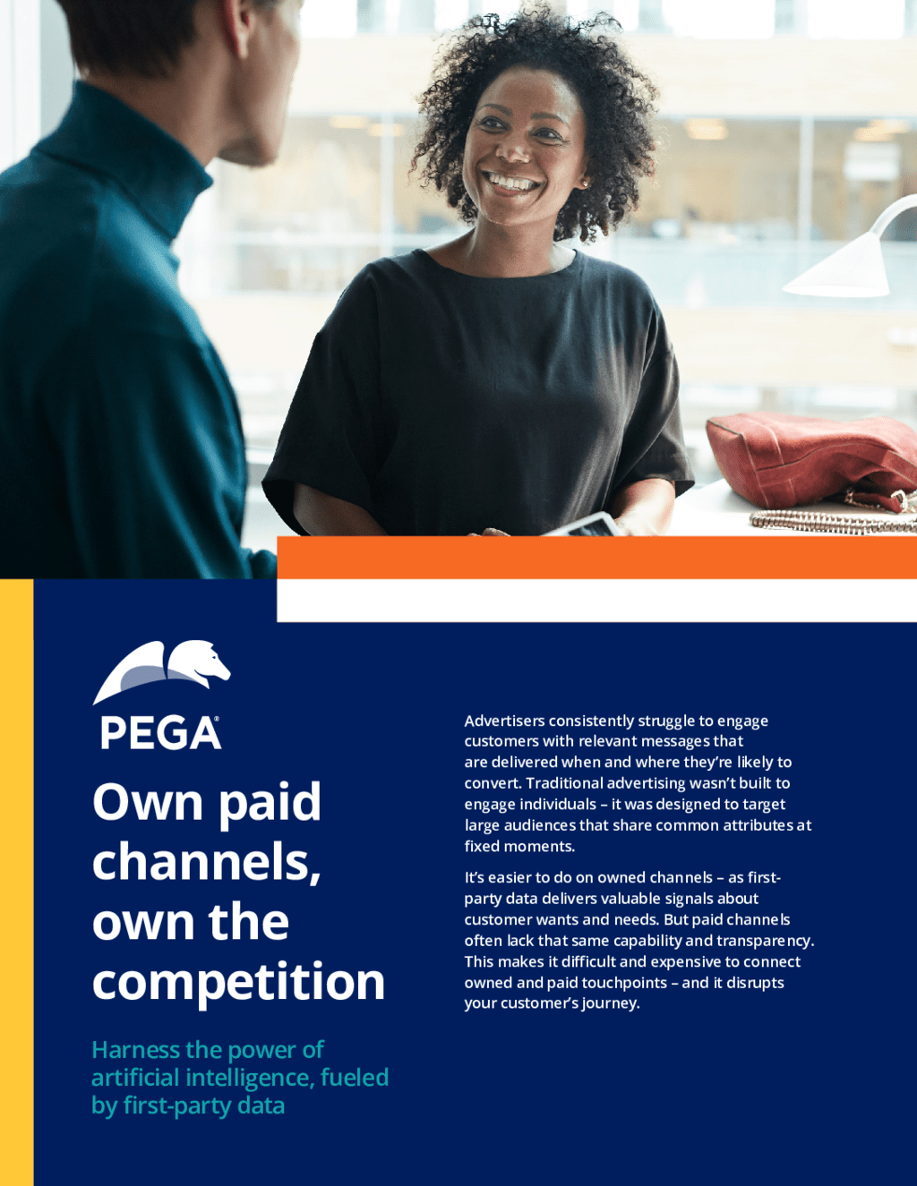 Cover image thumbnail for 'Own paid channels, own the competition' white paper