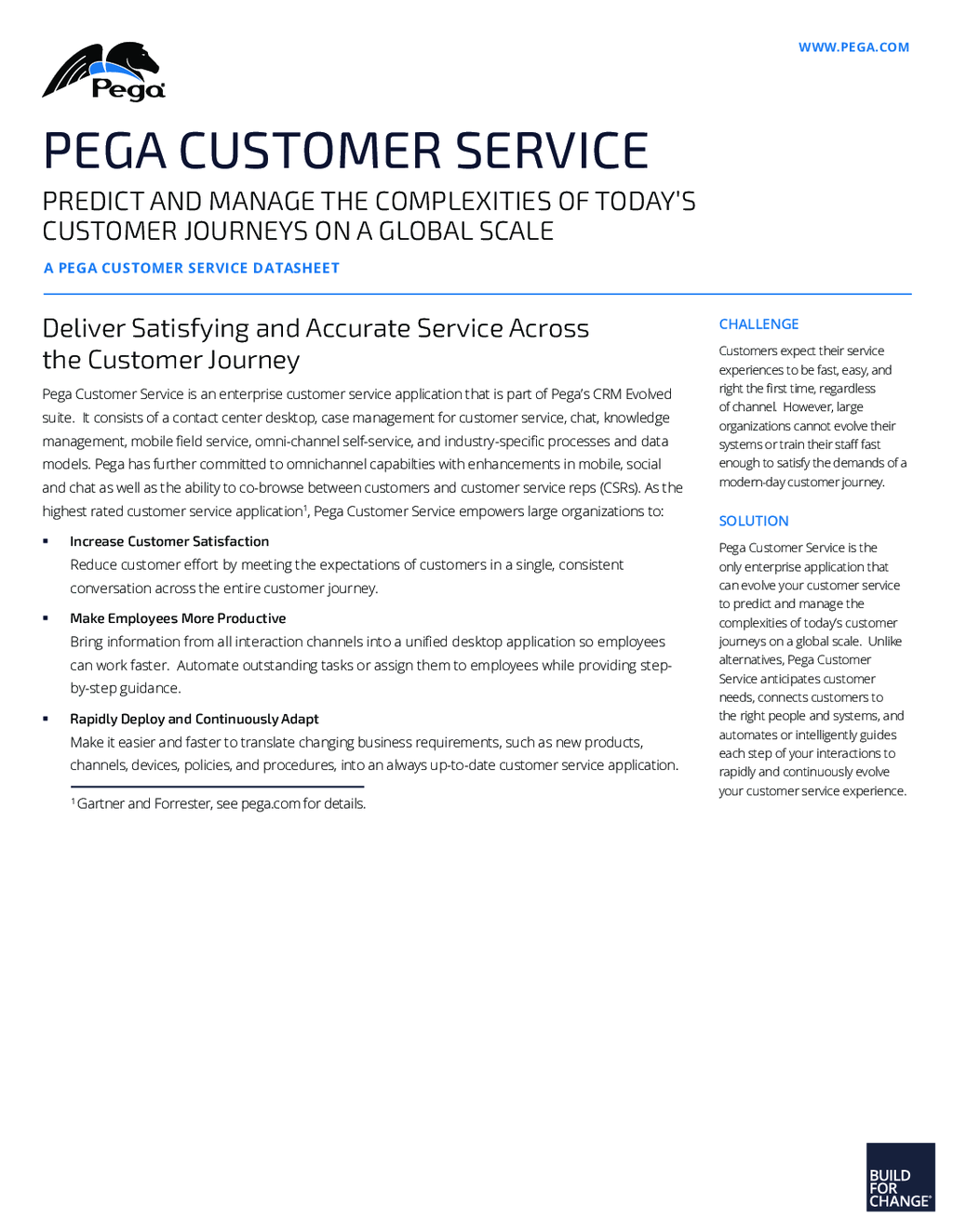 Pega Customer Service application overview | Pega