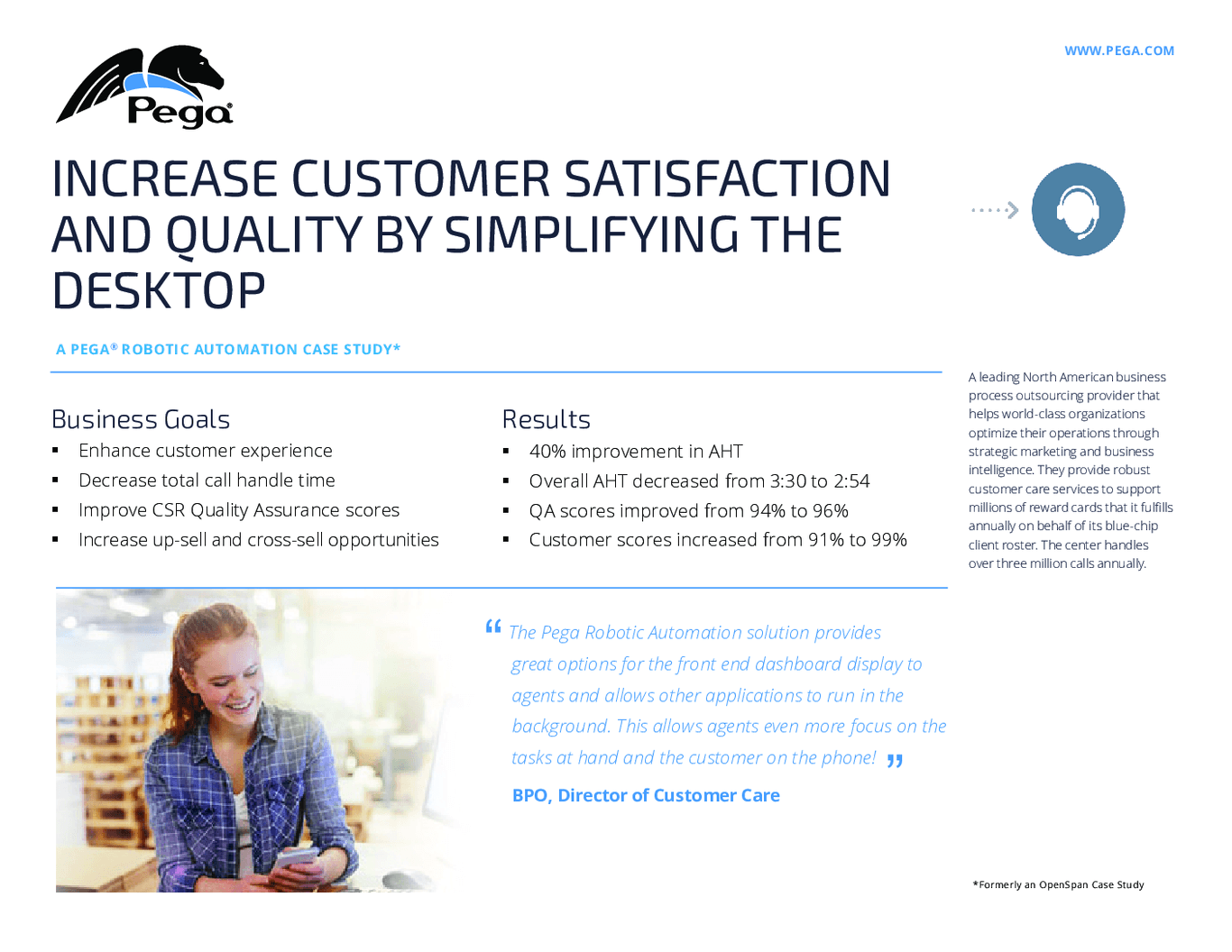 Increase Customer Satisfaction And Quality By Simplifying