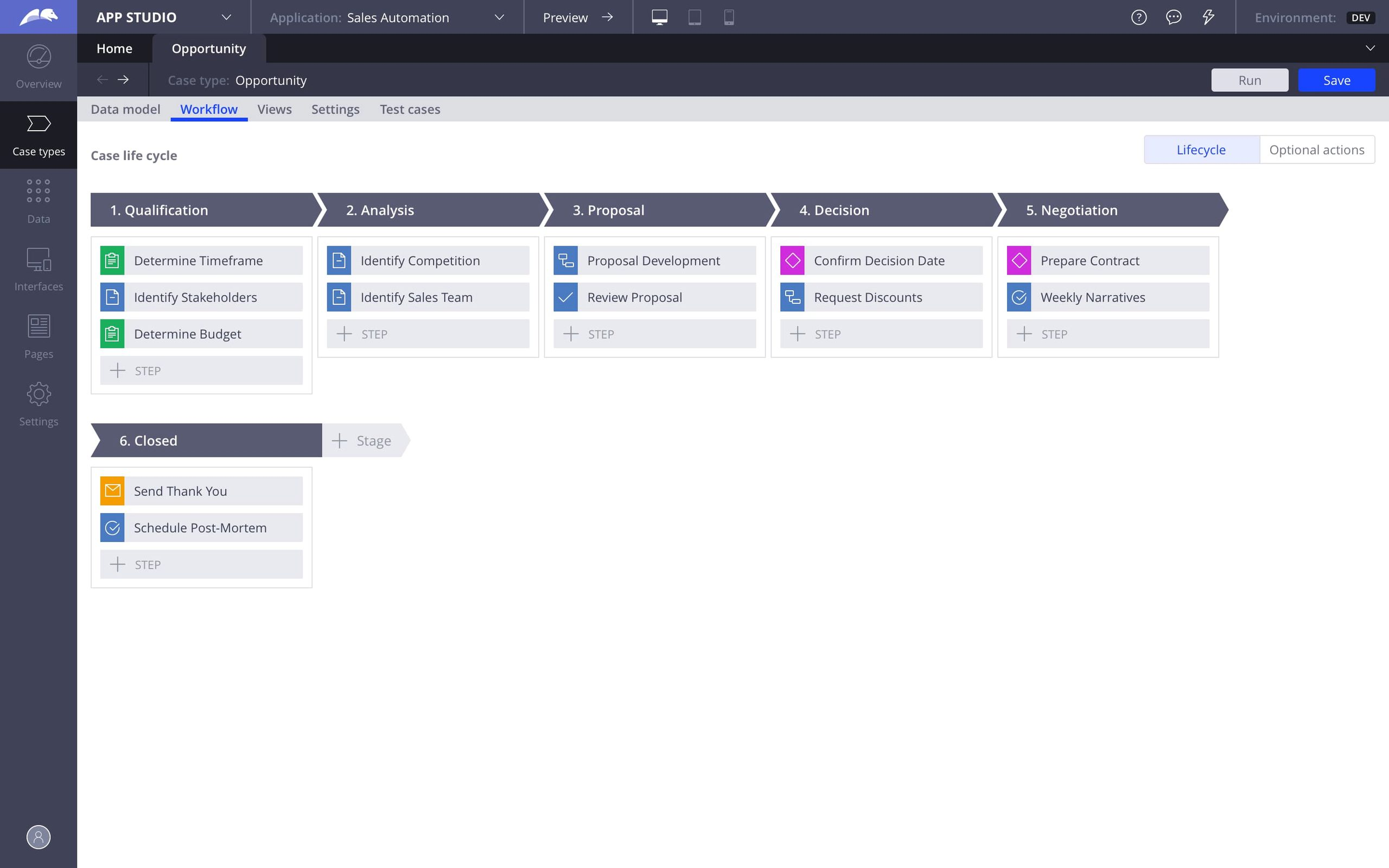 Sales Automation for Healthcare f4