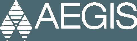 Aegis logo white