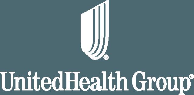 UnitedHealth Group logo white