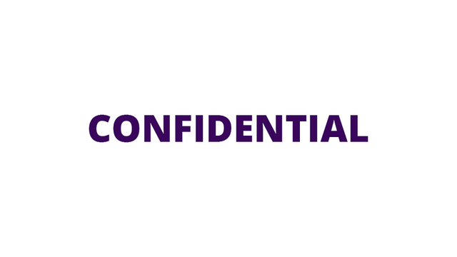 Confidential logo