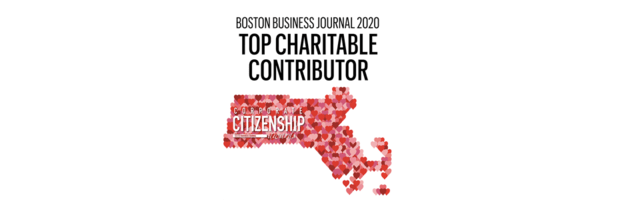 Boston Business Journal 2020 Top Charitable Contributor