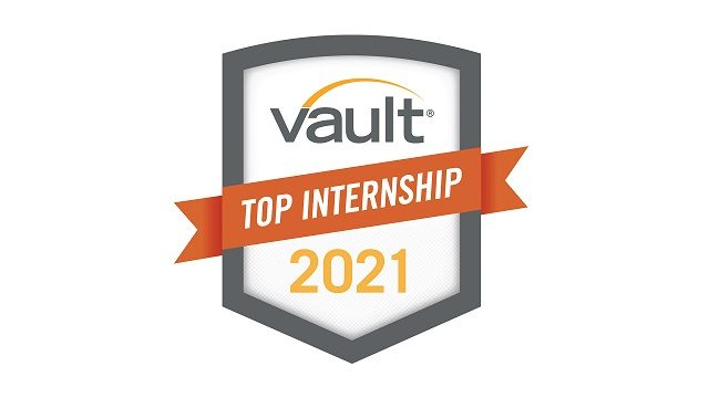 Vault Top Internship 2021 seal