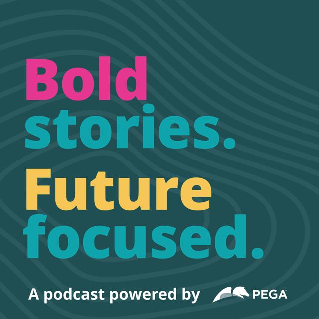 Pega Podcast season 2 logo